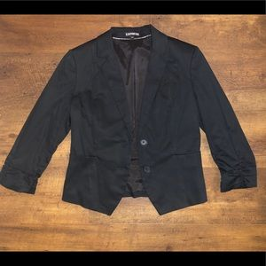 Black suit jacket from Express